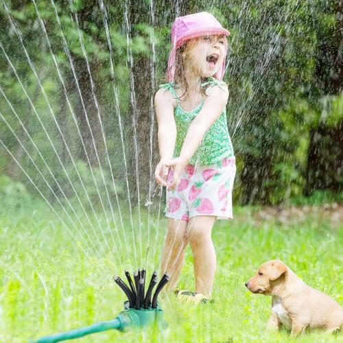 360° Lawn Sprinkler Head Sprayer Irrigation System