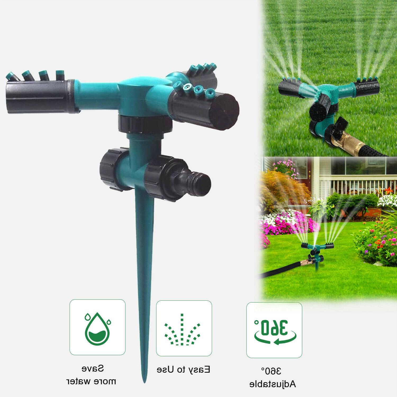 360° Sprinklers Irrigation Yard