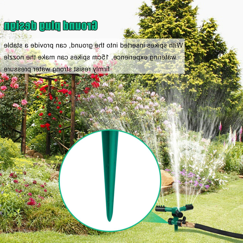 360° Garden Sprinklers Automatic Sprayer Irrigation