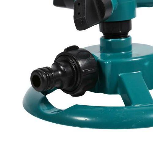 360° Lawn 3 Sprinklers Irrigation