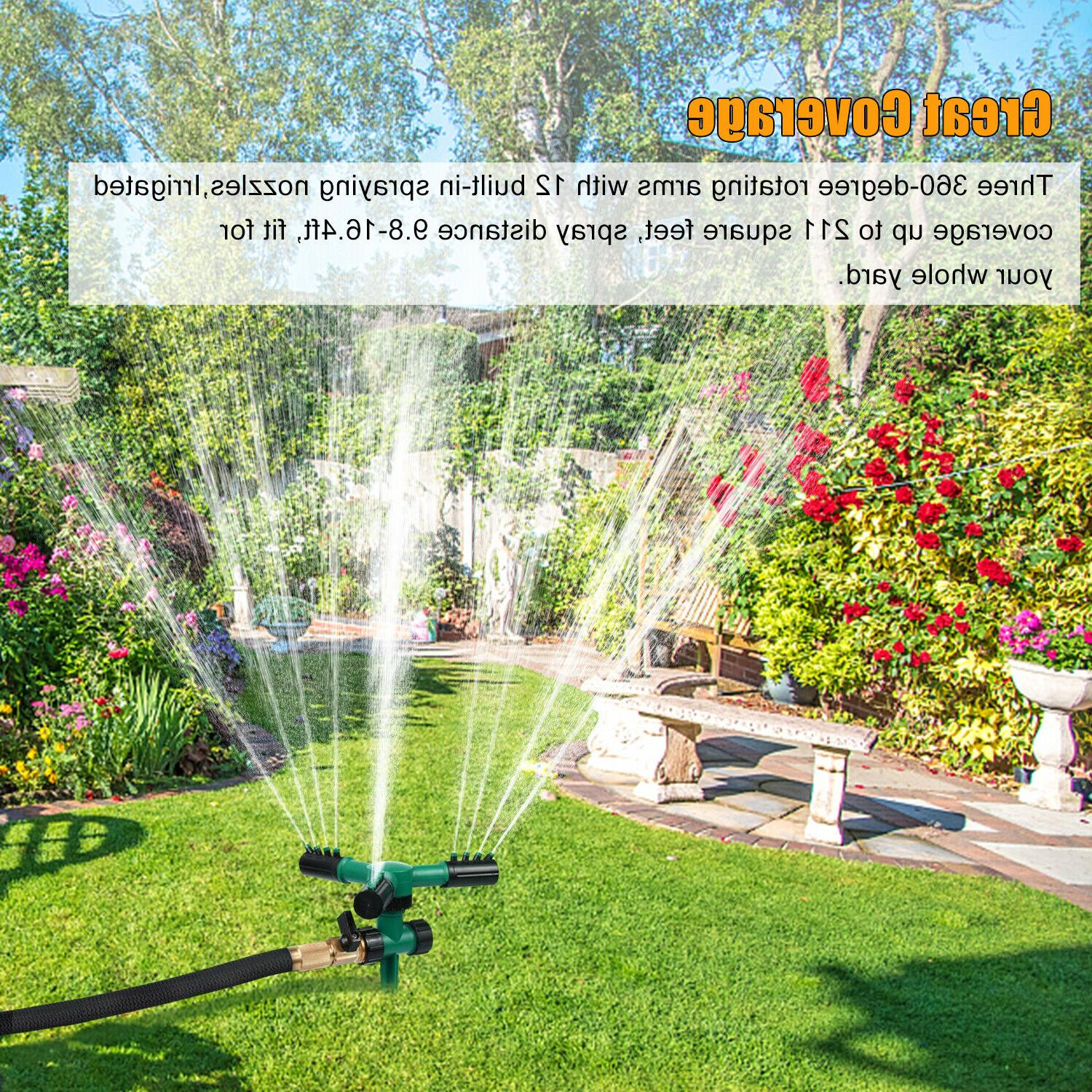 360° Lawn Automatic Water Lawn Irrigation