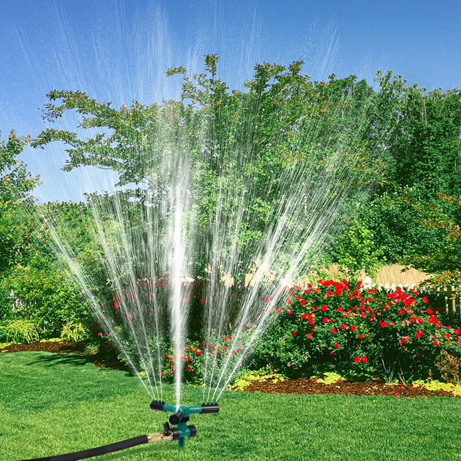 360° Sprinkler Automatic Water Sprinklers Lawn Irrigation