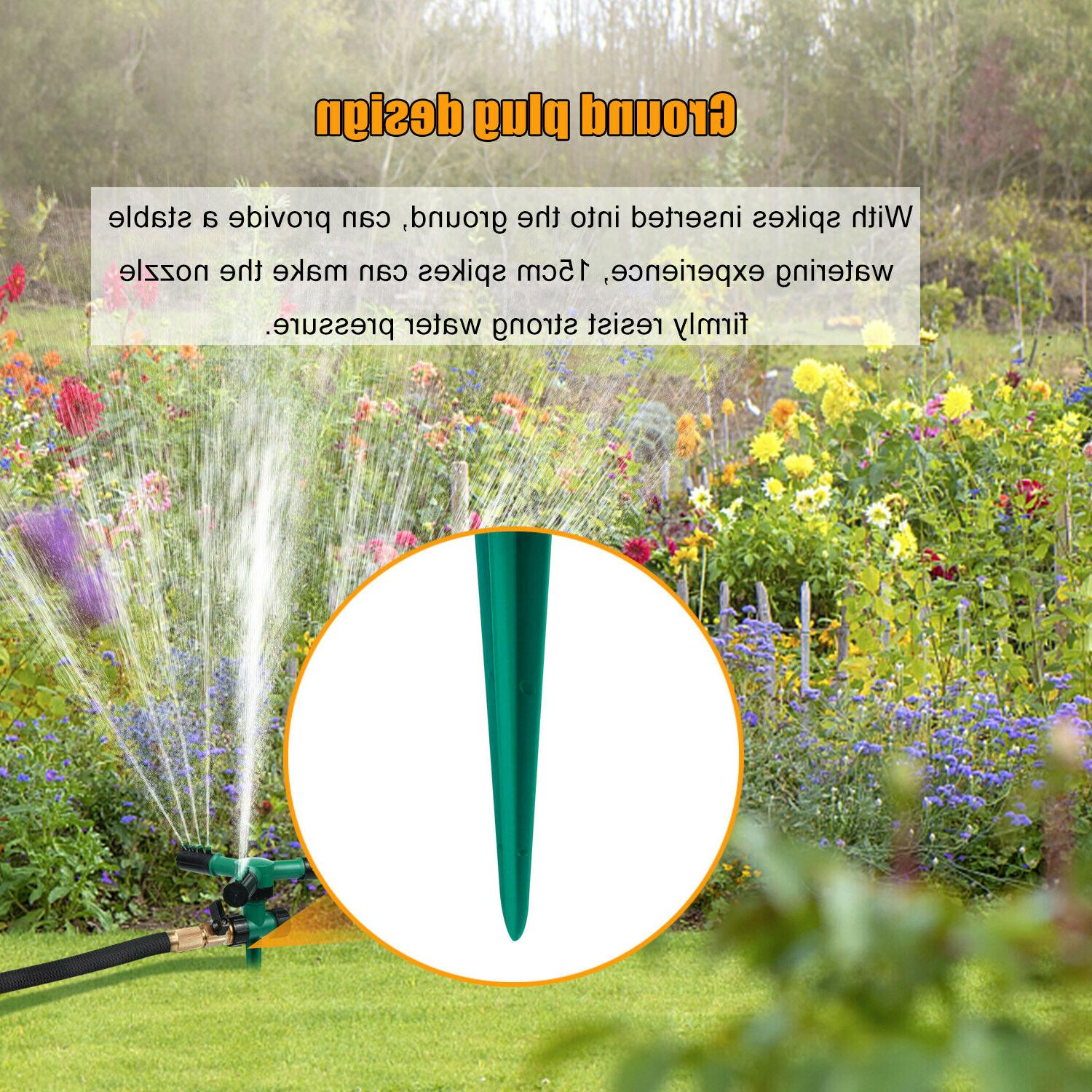 2× Auto Lawn Garden Yard Irrigation
