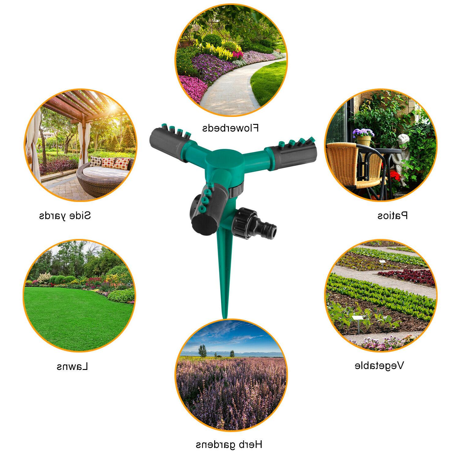 360° Automatic Garden Sprinklers Lawn Irrigation