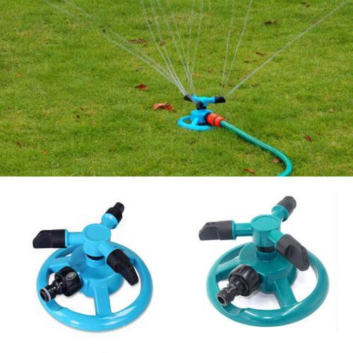 Lawn Water Sprinklers Rotation 360°