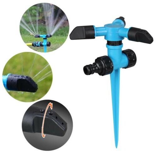 360° Rotating Sprinkler Automatic Garden Lawn
