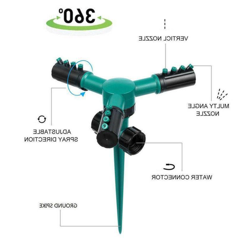 360° Rotating Automatic Water Sprinklers LawnIrrigationBH