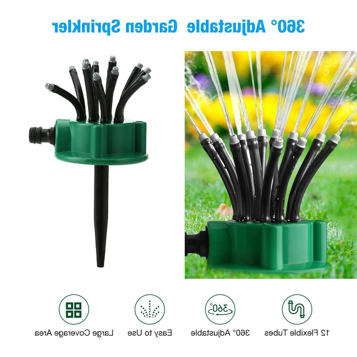 360° Flexible Lawn Sprinklers Automatic Watering Noodlehead Garden