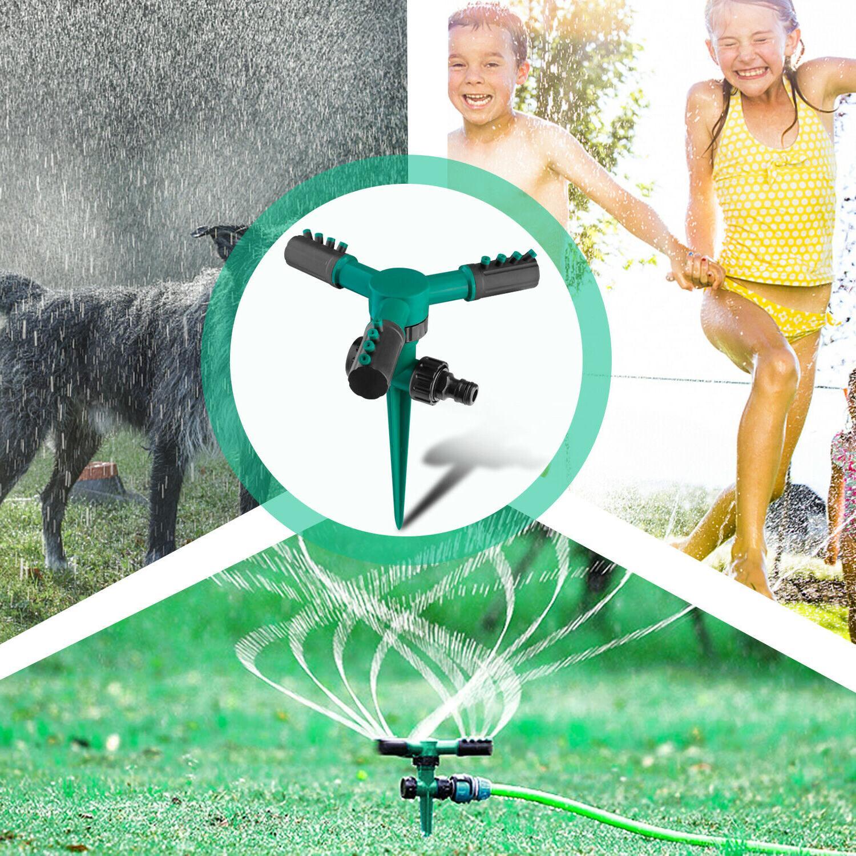 360° Garden Sprinklers Automatic Sprayer Irrigation Yard