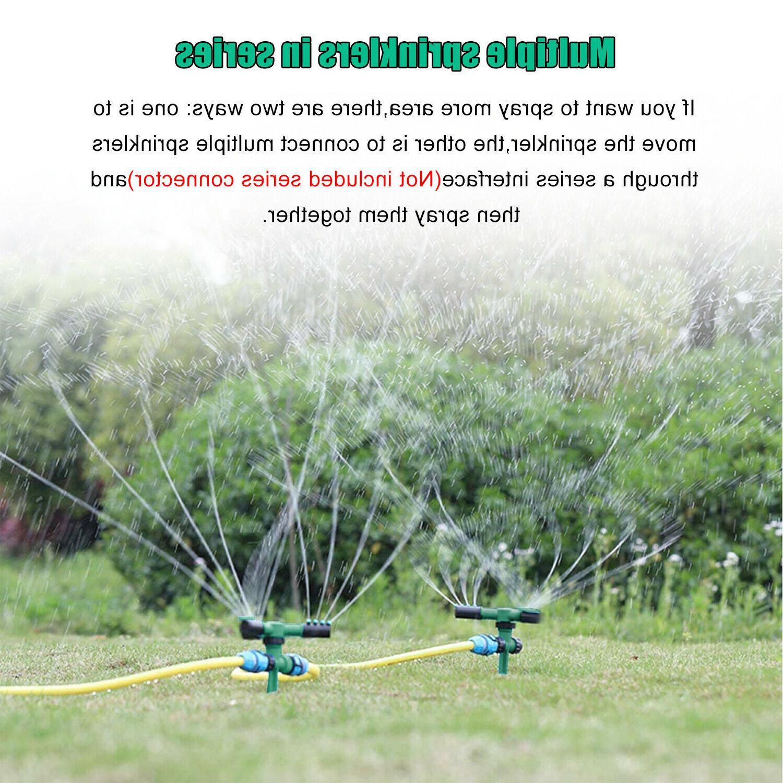 360° Lawn Garden Sprinklers