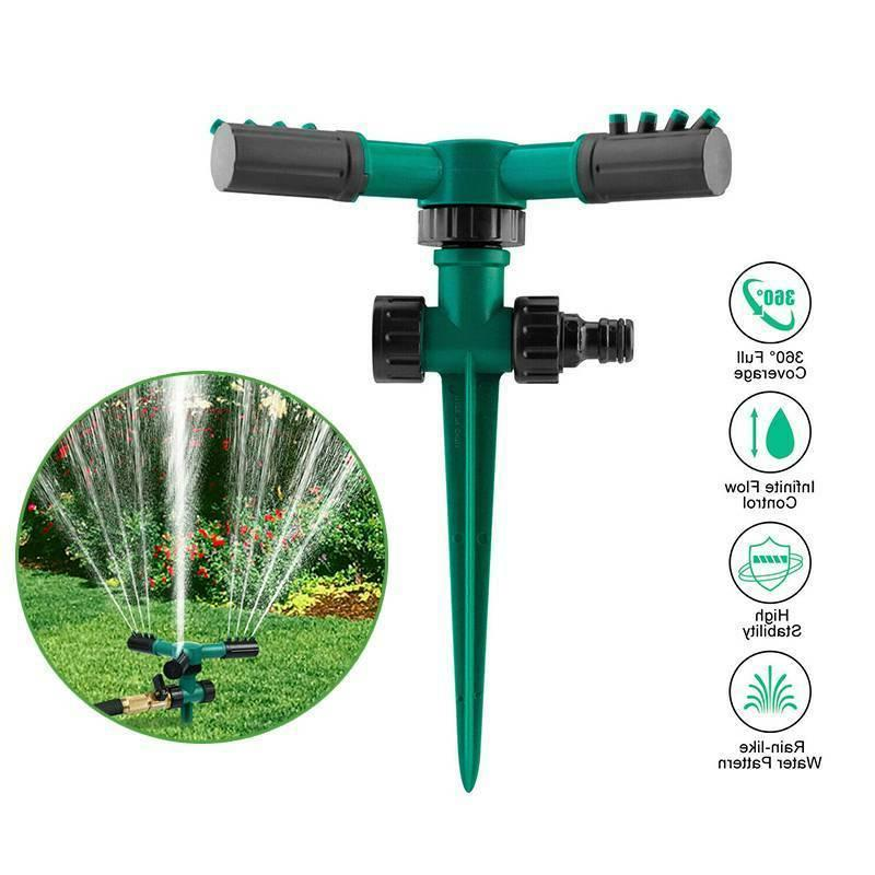 360° Rotating Automatic Sprinkler Watering System for Garde