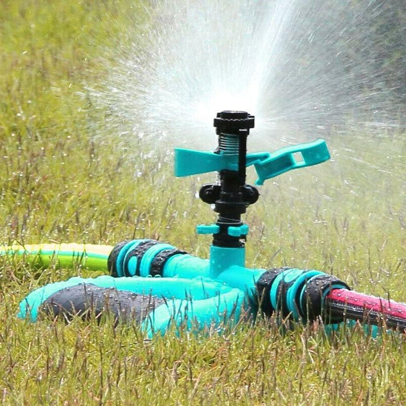 360° Rotation Lawn Sprinkler Automatic Garden Water Sprinklers Lawn Irrigation