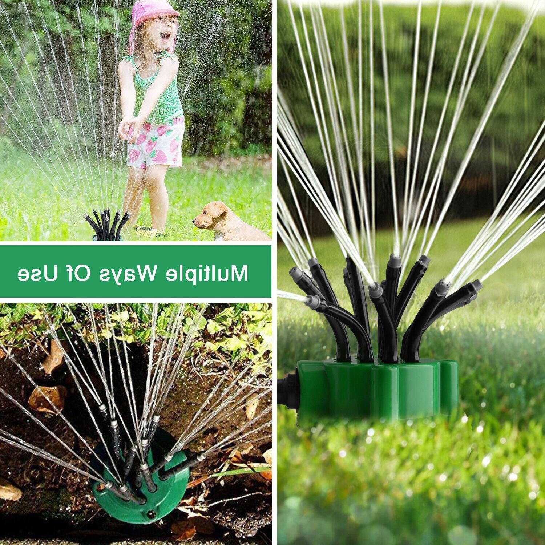 360° Lawn Garden Sprinkler Watering Water