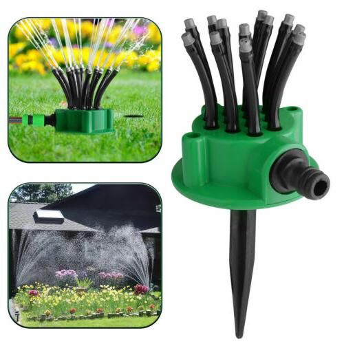 360 rotation lawn sprinklers automatic watering sprayer