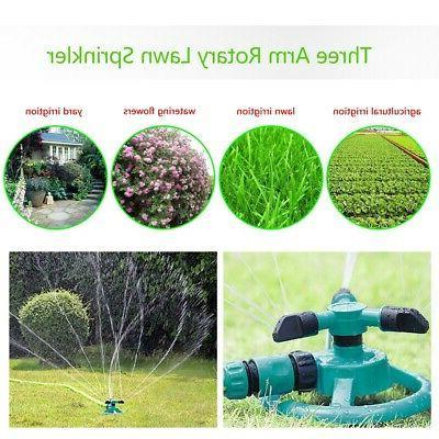 360°Rotating Sprinkler Lawn Grass Hose Spray