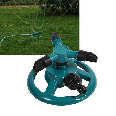 360° Watering Sprinkler 3 Pipe US