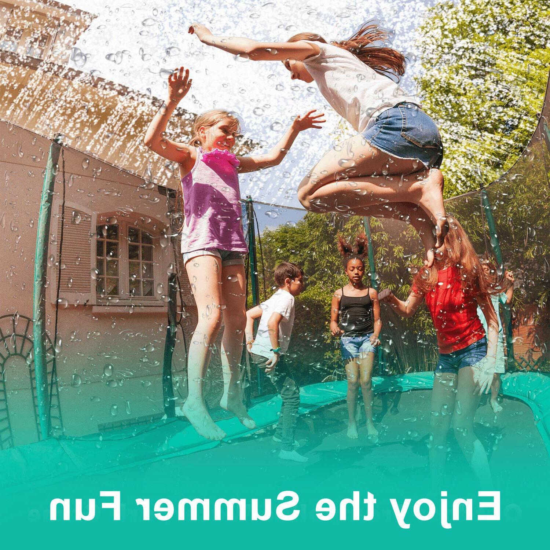 39ft/49ft Trampoline Sprinkler Summer Fun