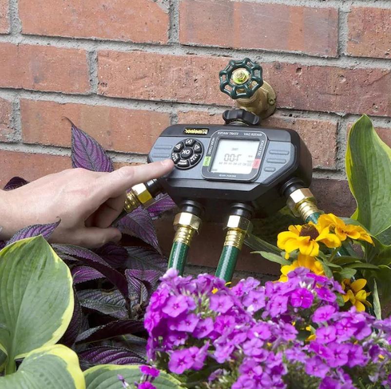 Port Timer Hose Water Sprinkler Garden