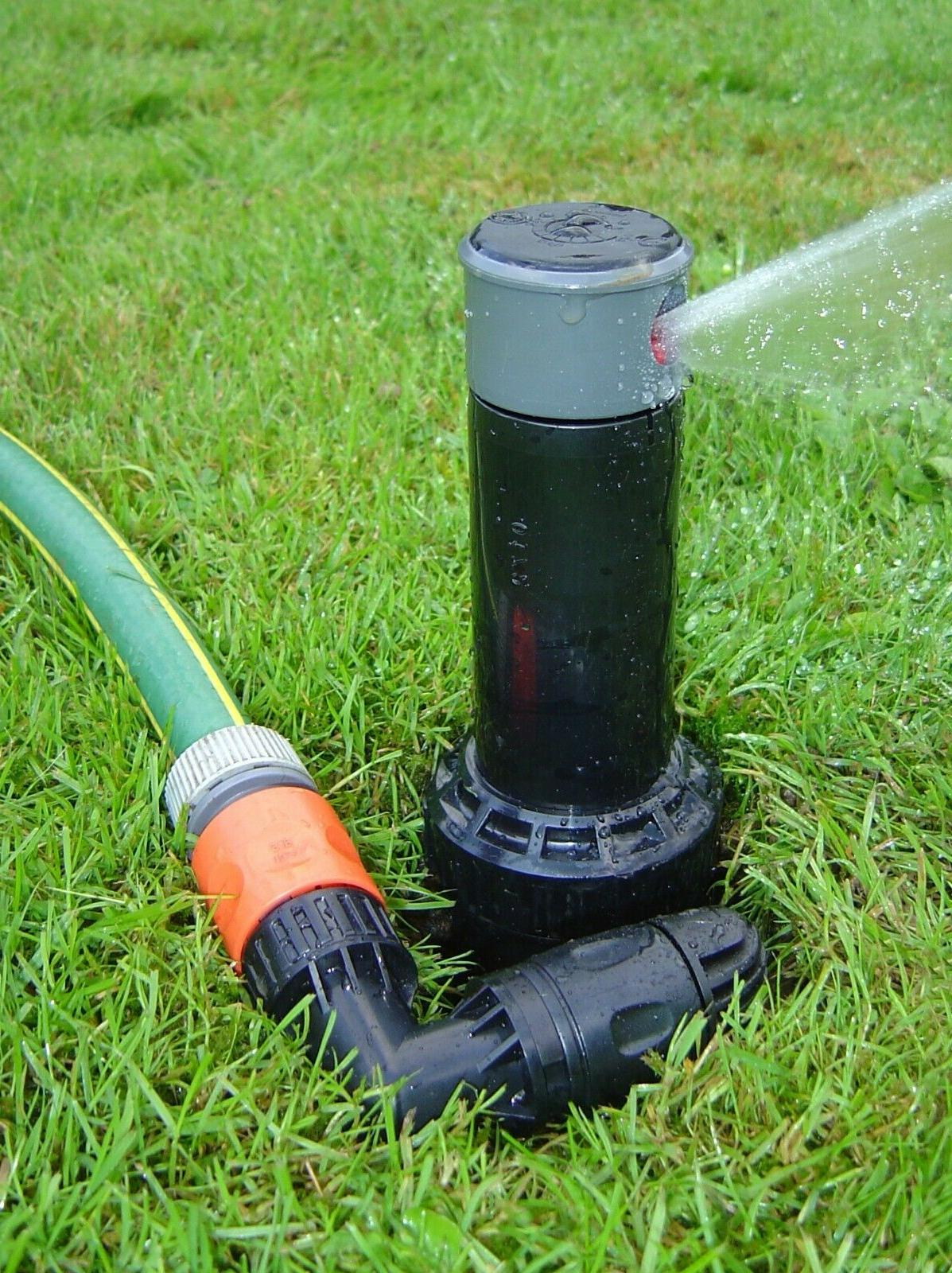 """Quick-Snap 5"""" Gear-Driven In-Ground Sprinkler with Quick Con"""
