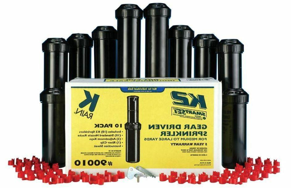 "5"" Rotor Lawn Head Adjustable Spray 10PK"