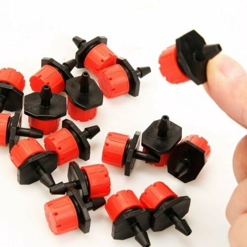 50/100Pc Mini Adjustable Emitters Water Dripper