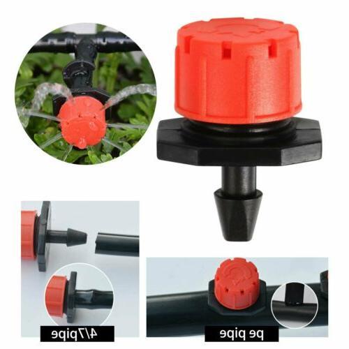 50/100Pc Mini Adjustable Stake Water Dripper