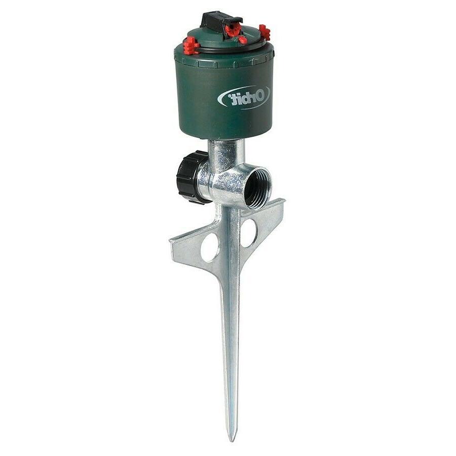 Orbit 5000 Sq.-ft Rotating Spike Lawn Sprinkler Adjustable