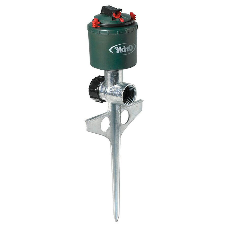 5000 sq ft rotating spike lawn sprinkler