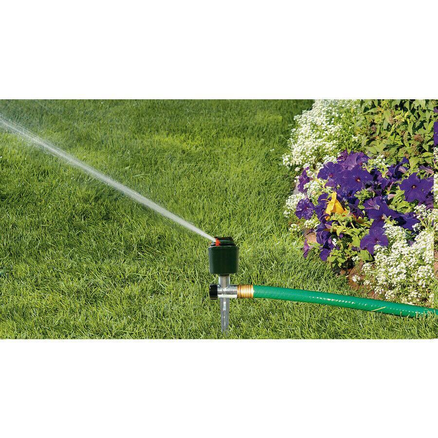360 degrees adjustable lawn sprinkler spike garden