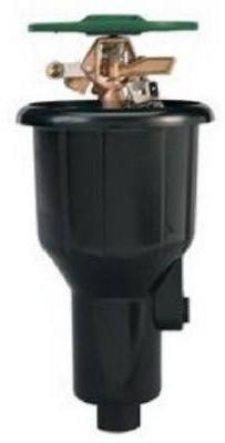 Orbit Underground 55034 Brass Impact Canister Sprinkler