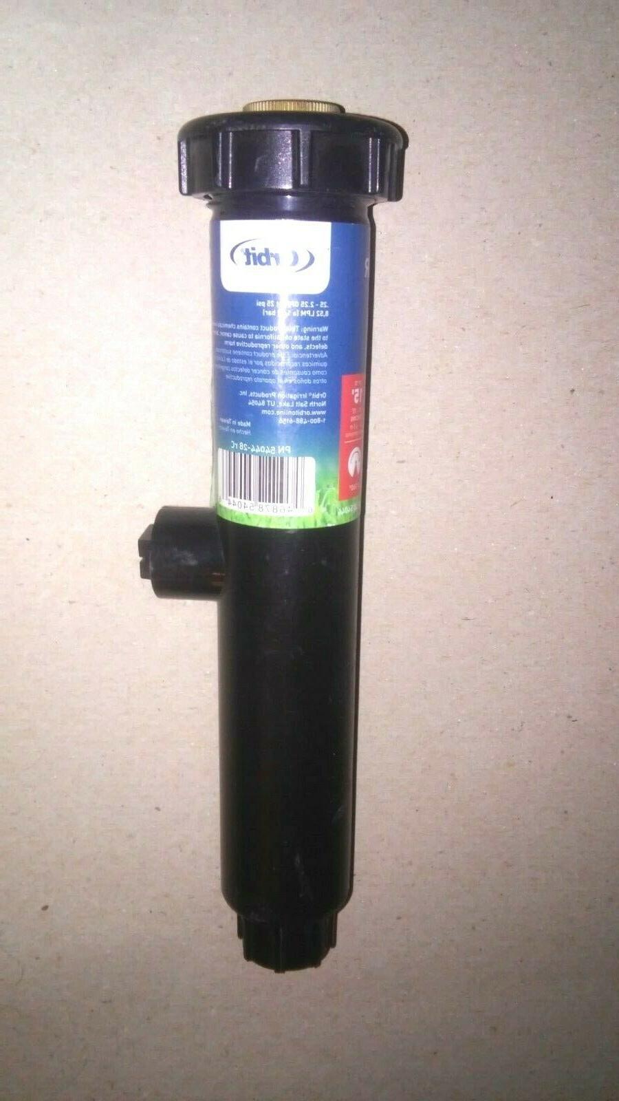 6 pop up brass head sprinklers