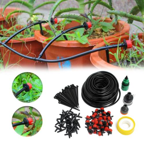 82ft micro drip irrigation kit system blank