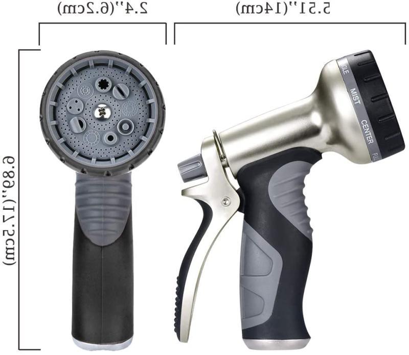 9 Duty Garden Sprinkler Head Durable Black