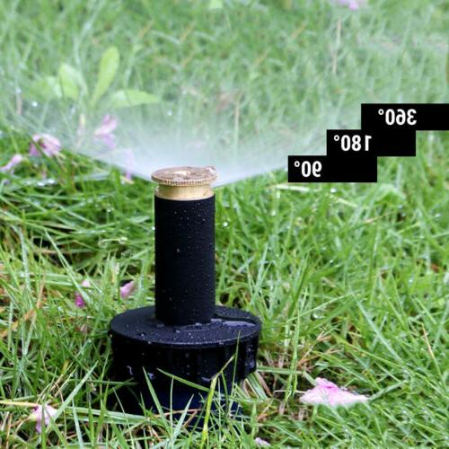 90 360 degree pop up sprinklers adjustable