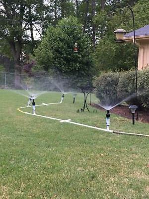above ground portable flexible sprinkler system portable