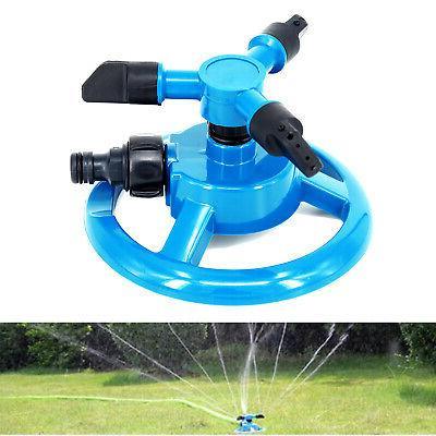 Sprinkler Circle Rotating Garden Hose Irrigation Automatic E