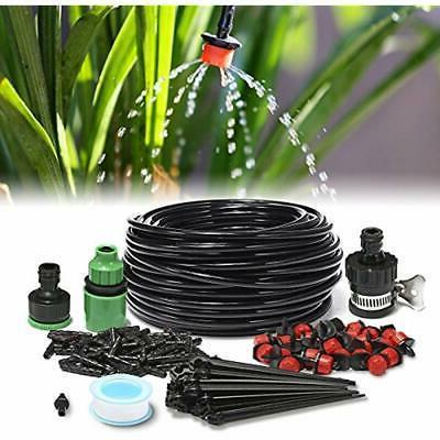 agsivo 82ft micro drip irrigation kit system