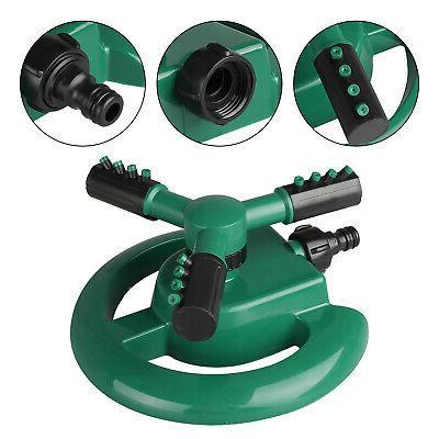 360° Rotating Lawn Sprinkler System Spray Irrigation