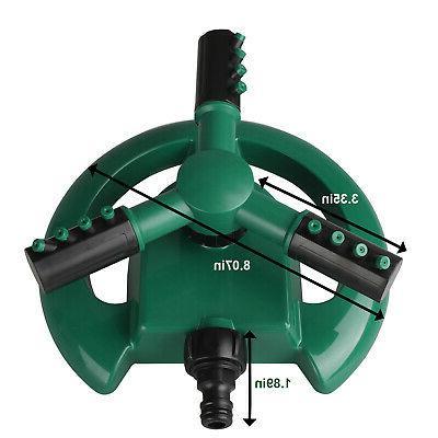360° Rotating System Grass Watering Spray Irrigation
