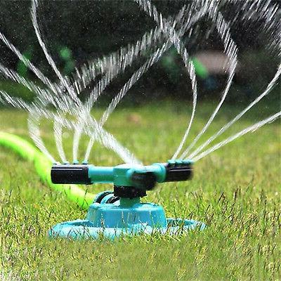 Garden Sprinkler Lawn Watering Rotating Spray Grass
