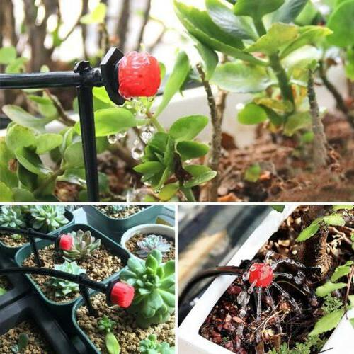 Automatic System Drip Sprinklers Garden Plant Self Kit