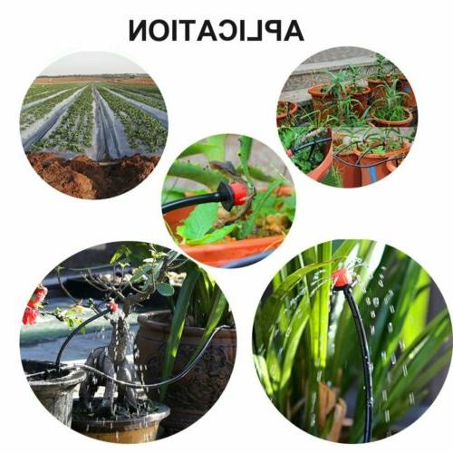 Automatic Irrigation System Timer Drip Sprinklers Garden Self Kit