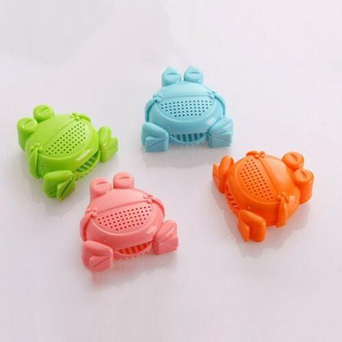 Baby Shampoo Rinse Bath Toy Frog Shower Hair Cleaning Tool
