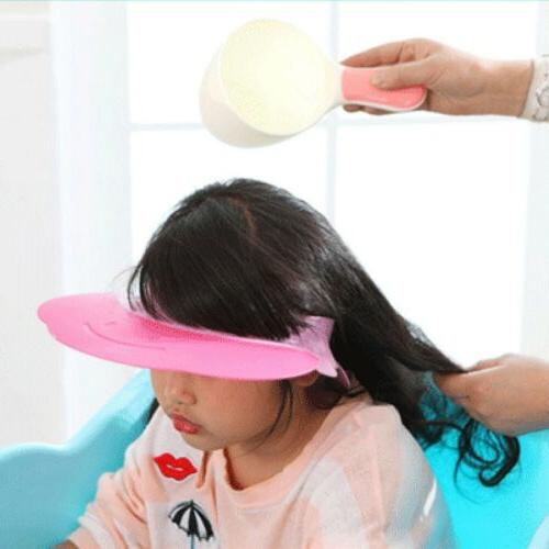 Baby Cup Bath Toy Shower Hair Tool