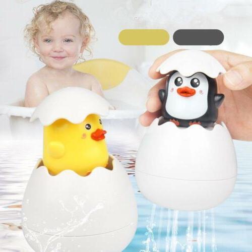 baby toddler duck penguin egg water spray