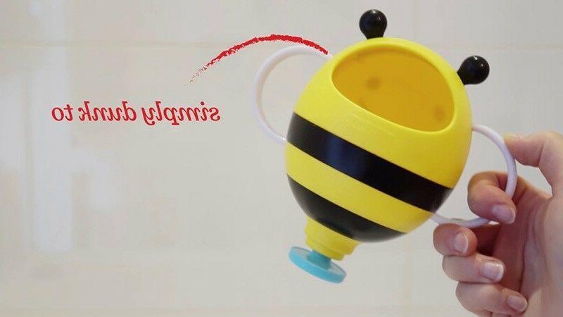 Baby Bee Umbrella Bath Toy
