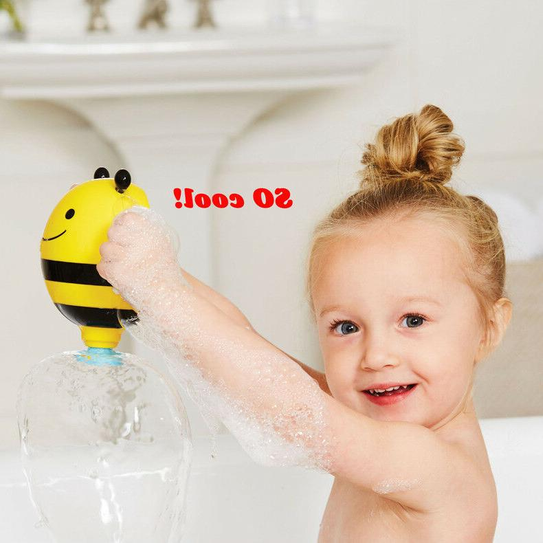 Baby Toddler Kid Bee Bath Sprinkler Toy