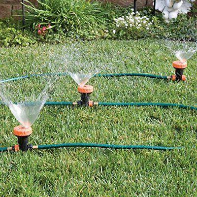 3 in 1 Sprinkler System with 5 Spray Settings