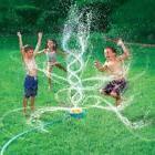 Banzai Geyser Blast Sprinkler Kids Water Fun Summer Outdoor