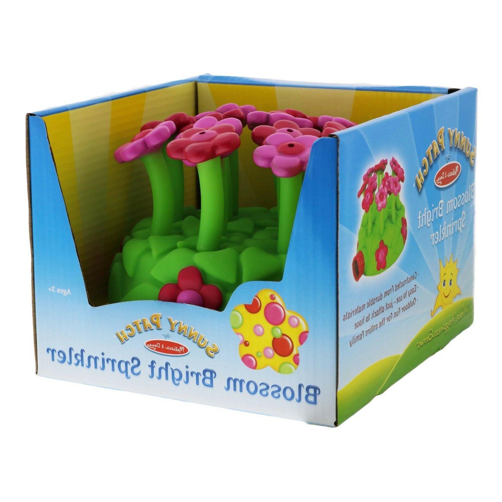 blossom bright sprinkler melissa and doug toy